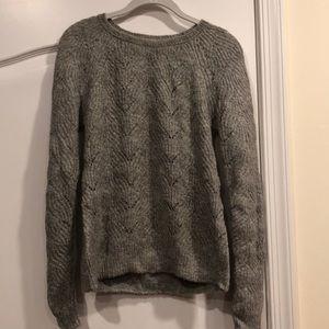 Ann Taylor LOFT Women's Gray Sweater Size Small